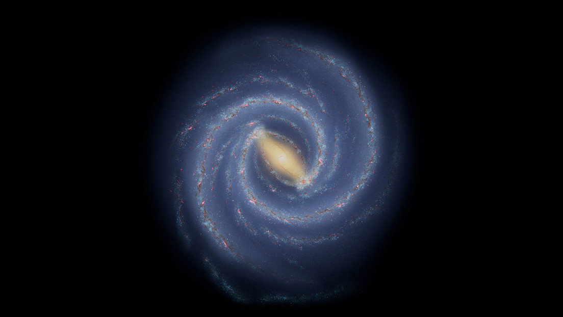 """Astronomers see a """"gap"""" in one of the Milky Way's spiral arms"""