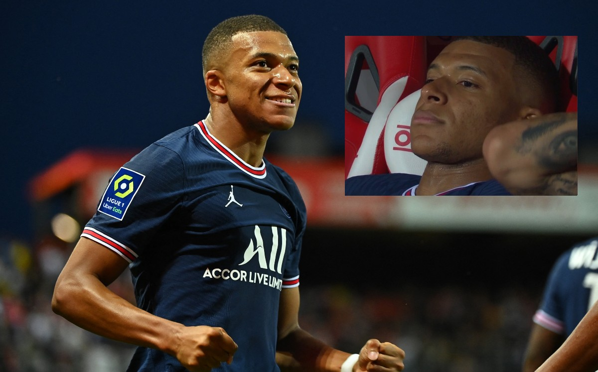 Paris Saint-Germain.  Kylian Mbappe and his new controversy for a gesture that overshadowed his goal