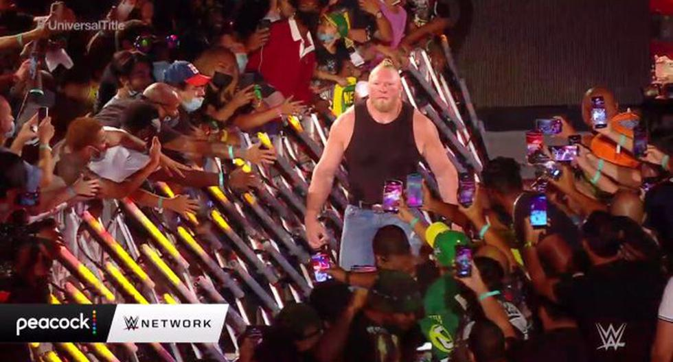 WWE SummerSlam 2021 LIVE: Brock Lesnar is back after over a year of absence and challenged Roman Reigns |  Video |  NCZD |  full sports