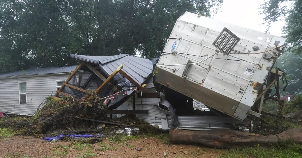 At least 16 people have been killed and dozens missing in floods in Tennessee
