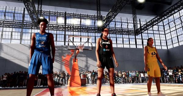 Women's basketball shines in NBA 2K22 with promotions to W