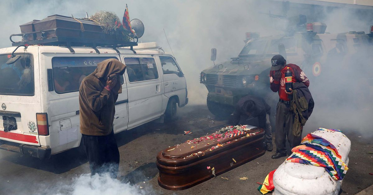 An IACHR investigative group concludes that there were massacres in Bolivia in 2019