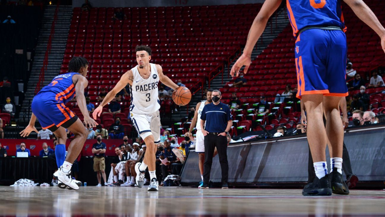Chris Duarte makes his Summer League debut with the Pacers