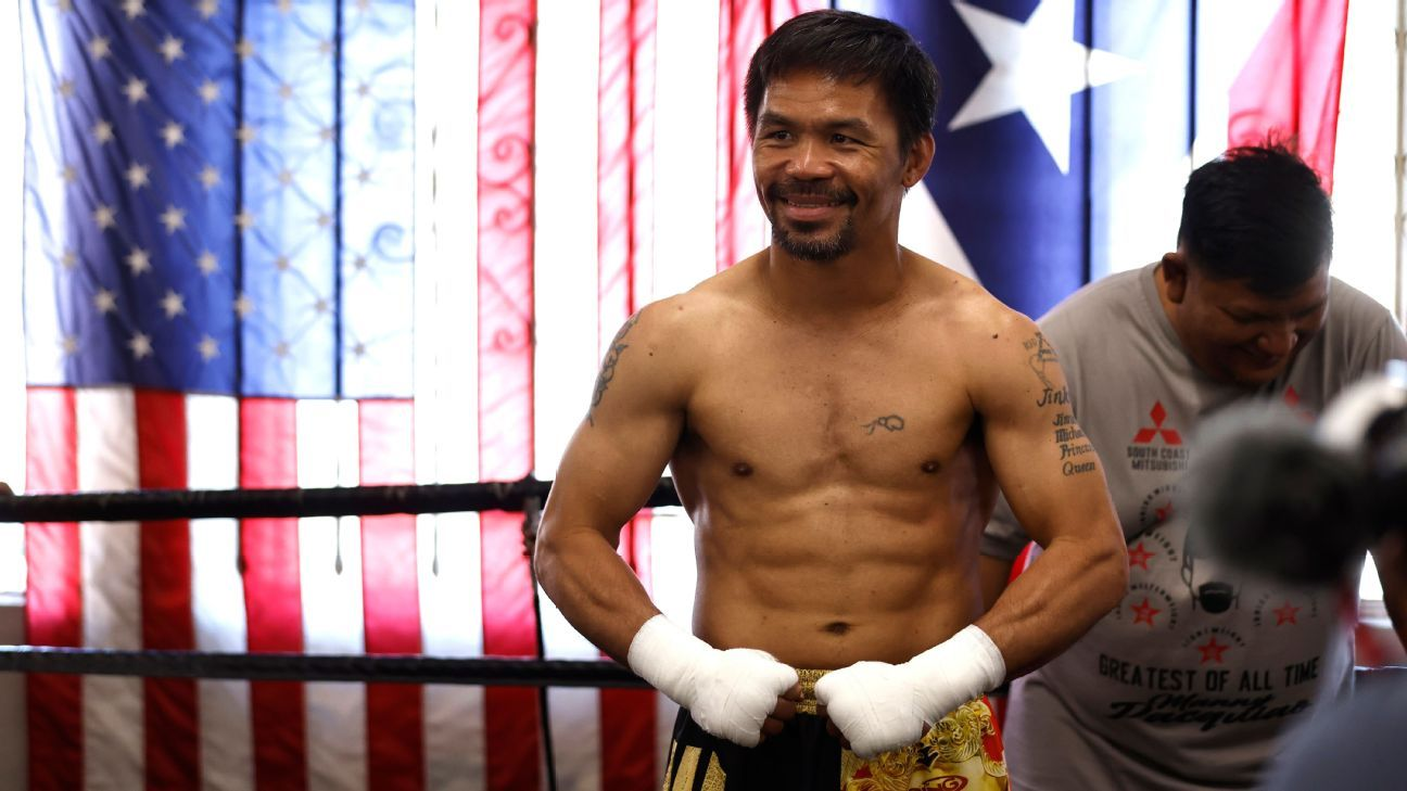 Errol Spence Jr. is injured and will not fight Pacquiao, Ojas takes his place