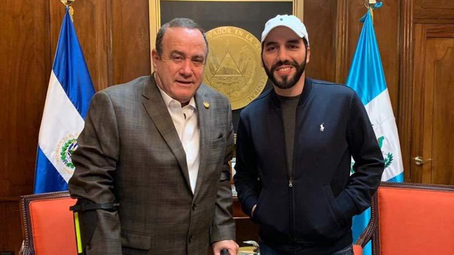 Giamatti and Bukele met with Israeli Russians, according to Guatemalan media