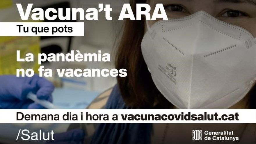 Health promotes a campaign to promote vaccination among Catalans