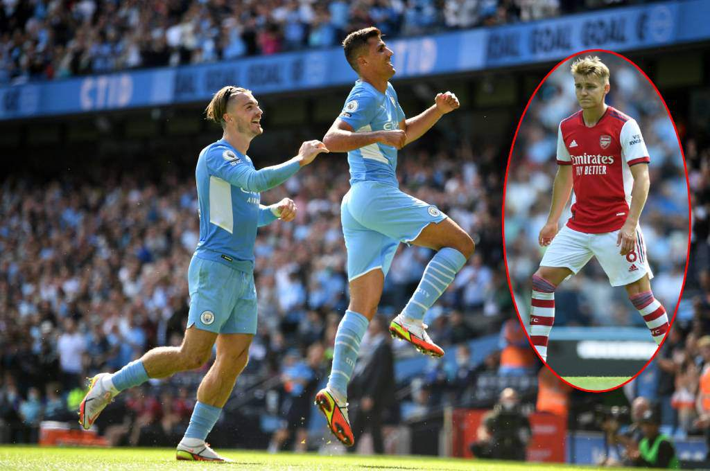 """Humiliation!  Manchester City rips Arsenal with a """"small hand"""" and spreads fear in the English Premier League – ten"""