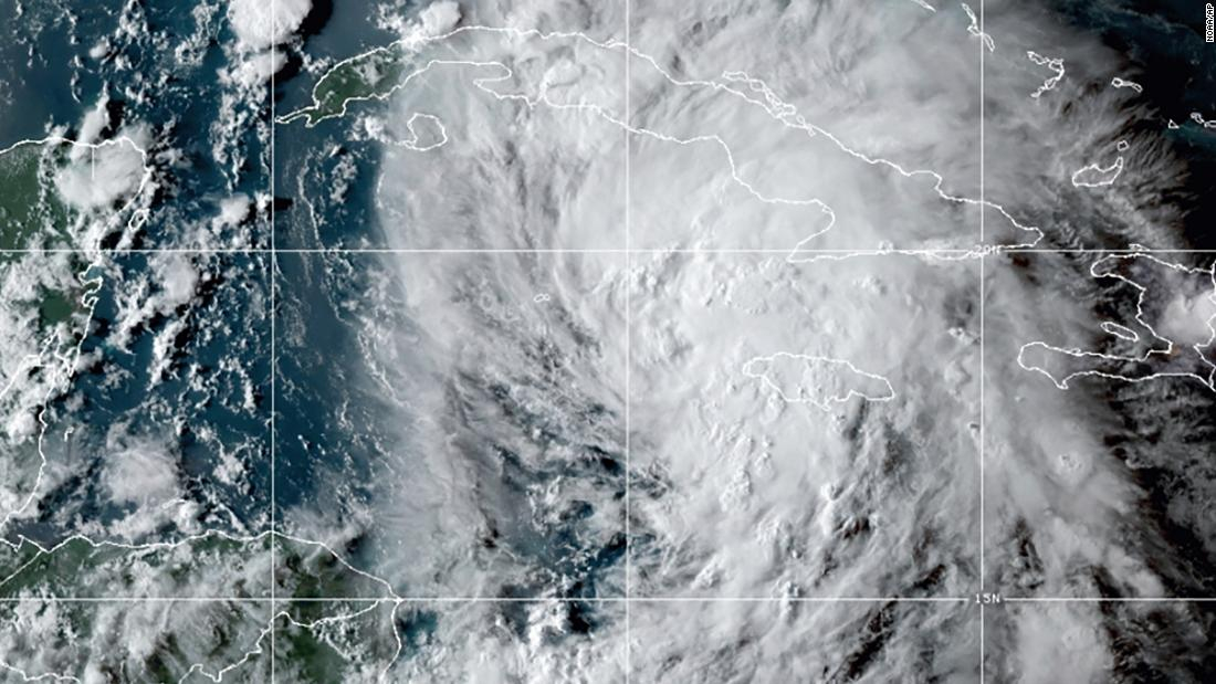 Hurricane Ida is expected to bring 300 millimeters of rain and hurricane force winds to the Gulf Coast