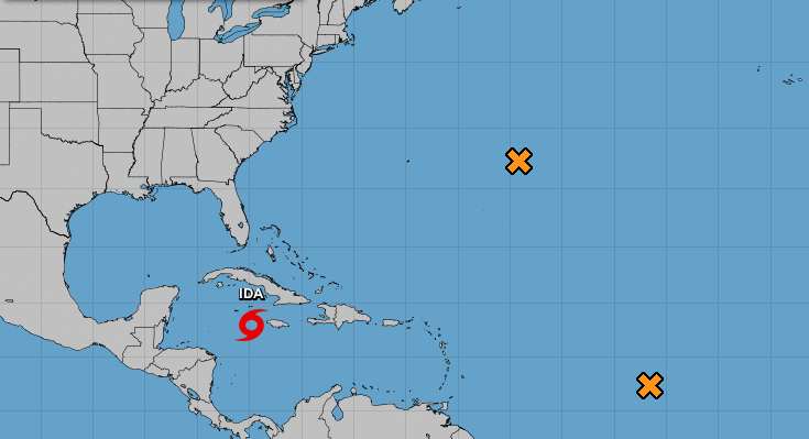 Hurricane Ida will form and it will turn into a hurricane