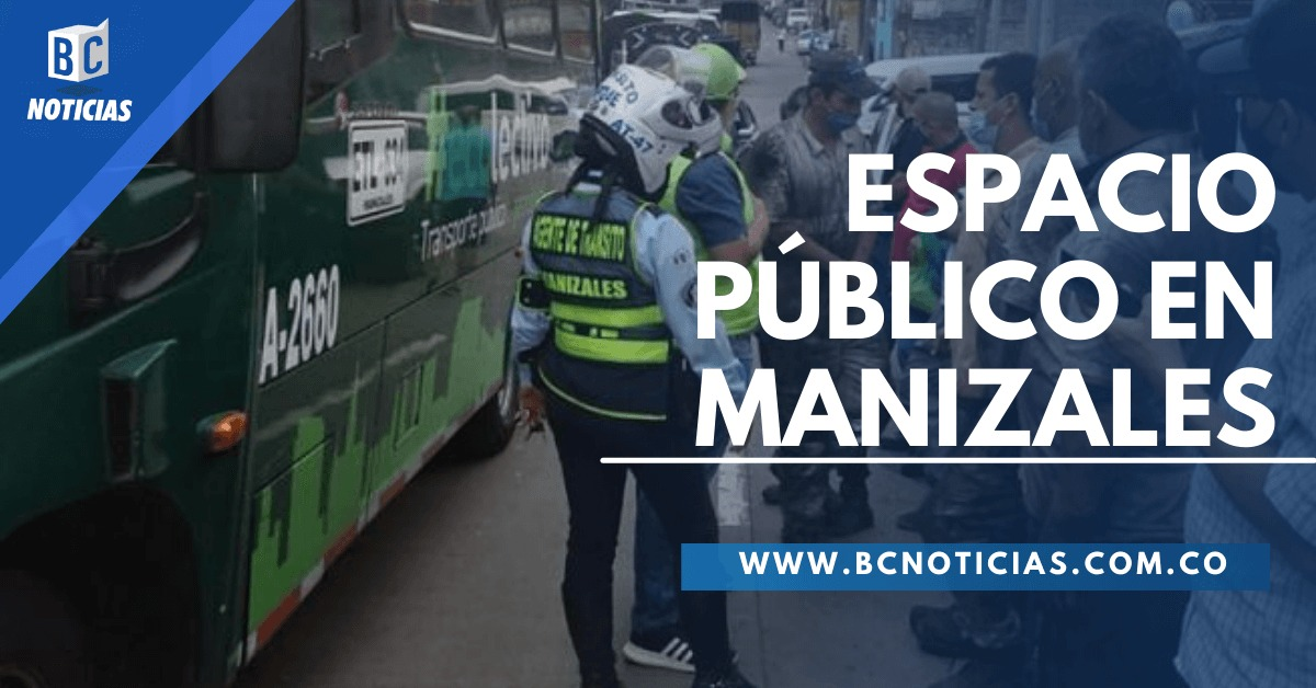 In Manizales they want citizens to respect public spaces