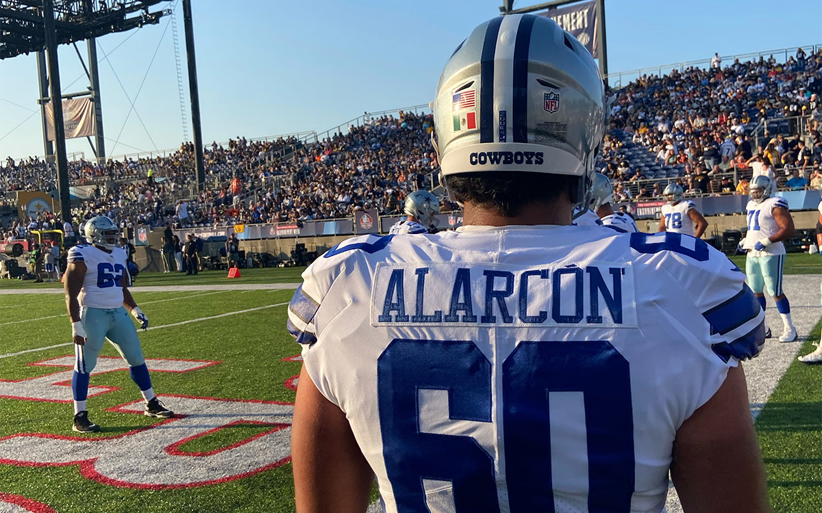 Isaac Allercon has already played his first photos in the NFL