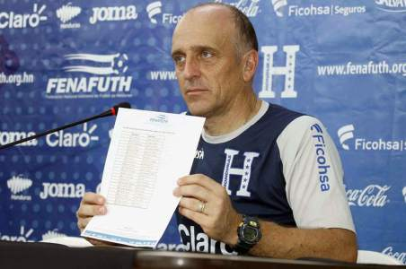 Many surprises: Honduras' call for the start of qualifiers to Qatar