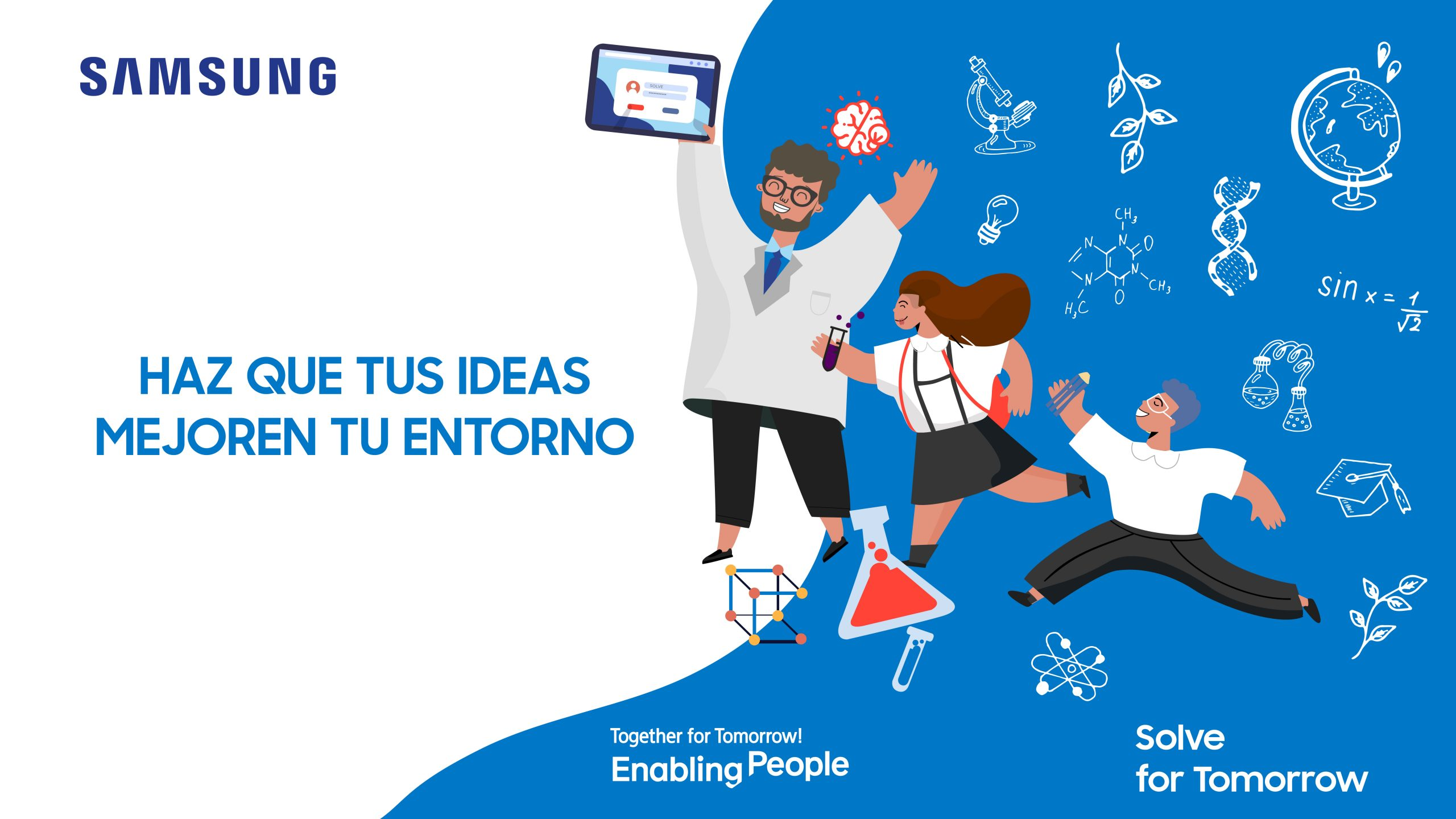 More than 4 thousand students from Peru participated in creative projects in the field of science and technology in the competition Samsung – Samsung Newsroom Peru
