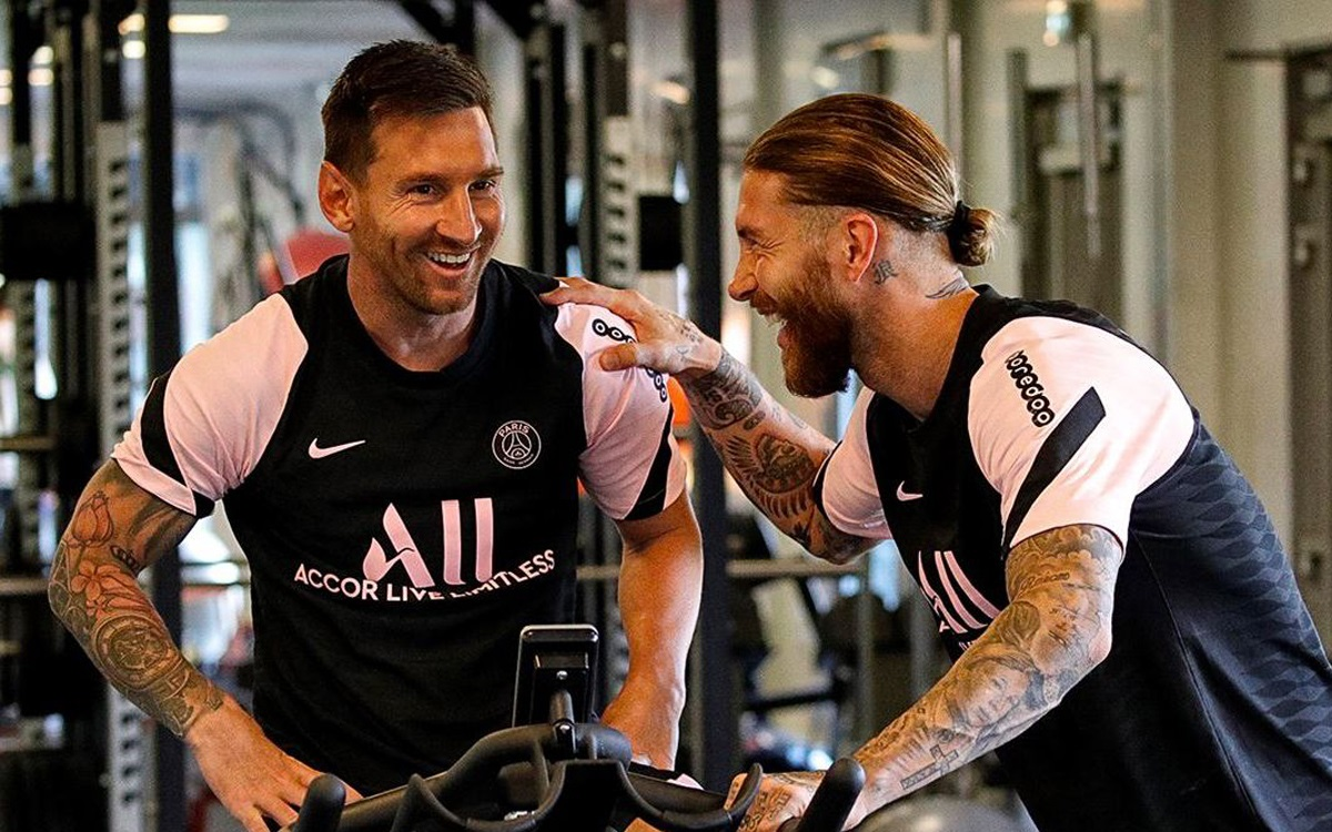 'My house is yours': Ramos' gesture with Messi when he arrives in Paris