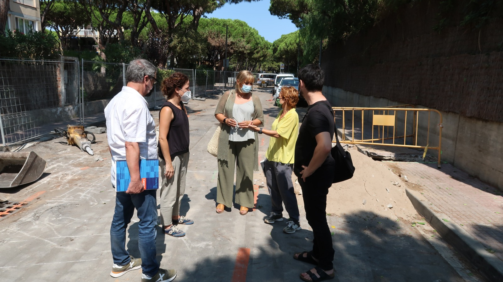 New interventions to improve public space in Gava Mar