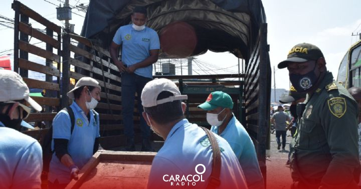 Operations to restore public spaces in Cartagena: 164 operations were carried out in Cartagena to restore public space |  Cartagena