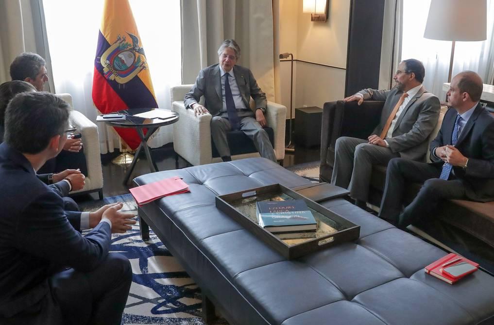 President Guillermo Laso concludes his tour in Mexico    Politics    News