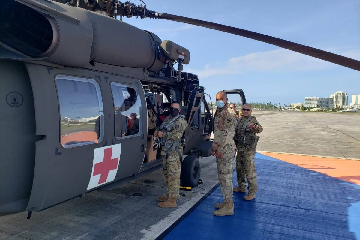 Puerto Rico National Guard travels to Haiti on a humanitarian mission