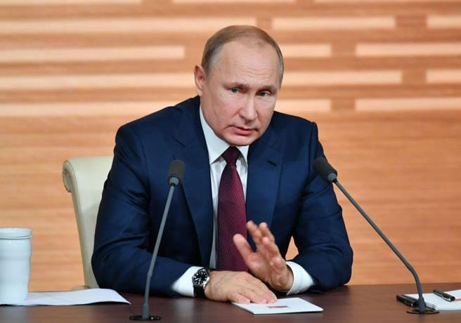 Putin's party increasingly dressed