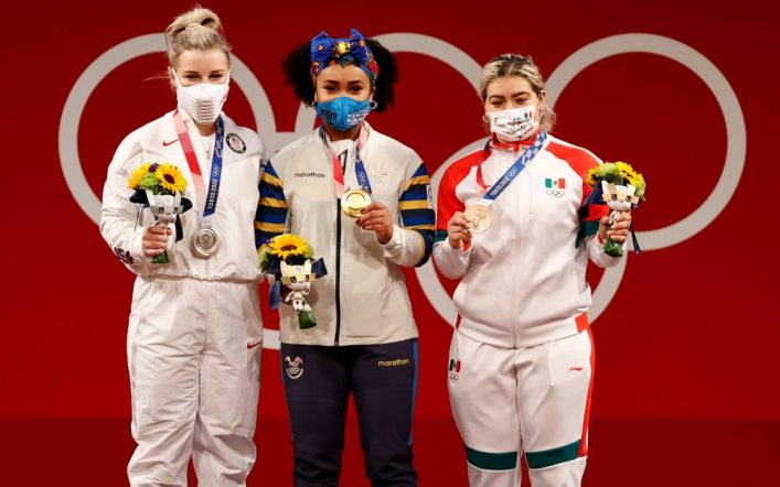 Results of the 76kg Women's Weightlifting in Tokyo 2020, with Olympic Champion Nici Dajoms |  Sports other |  Sports