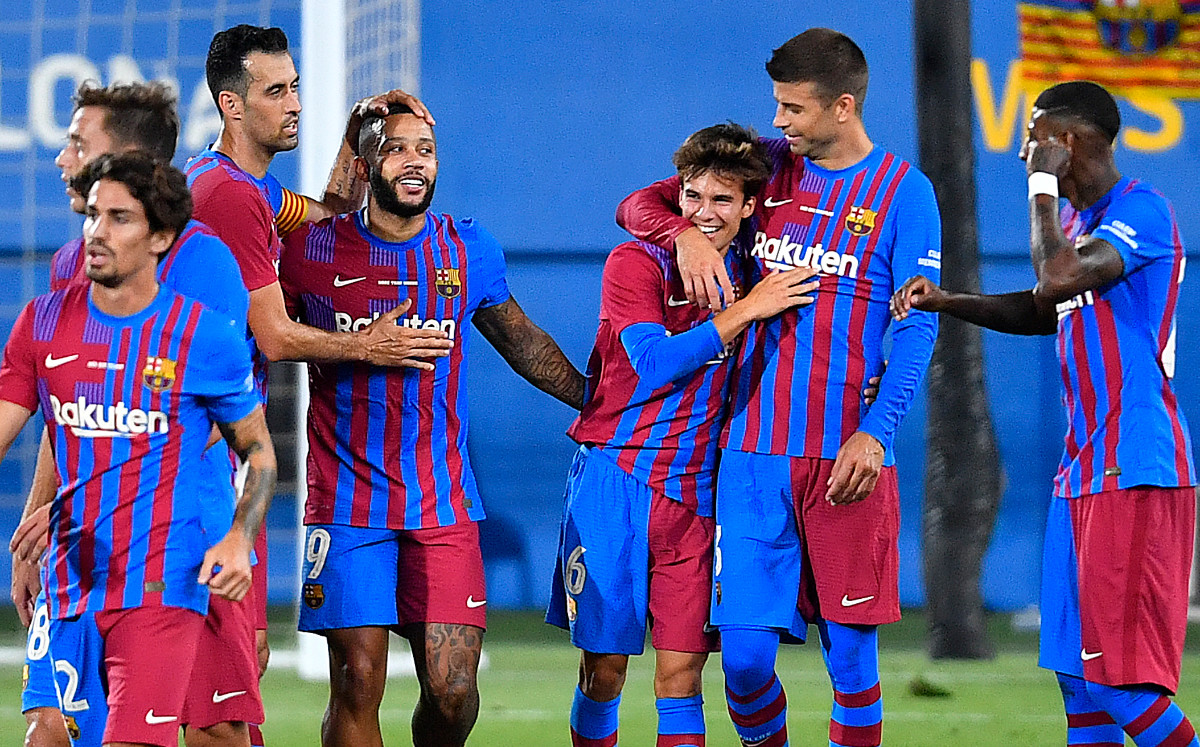 Summary of the match between Barcelona and Juventus (3-0).  Objectives