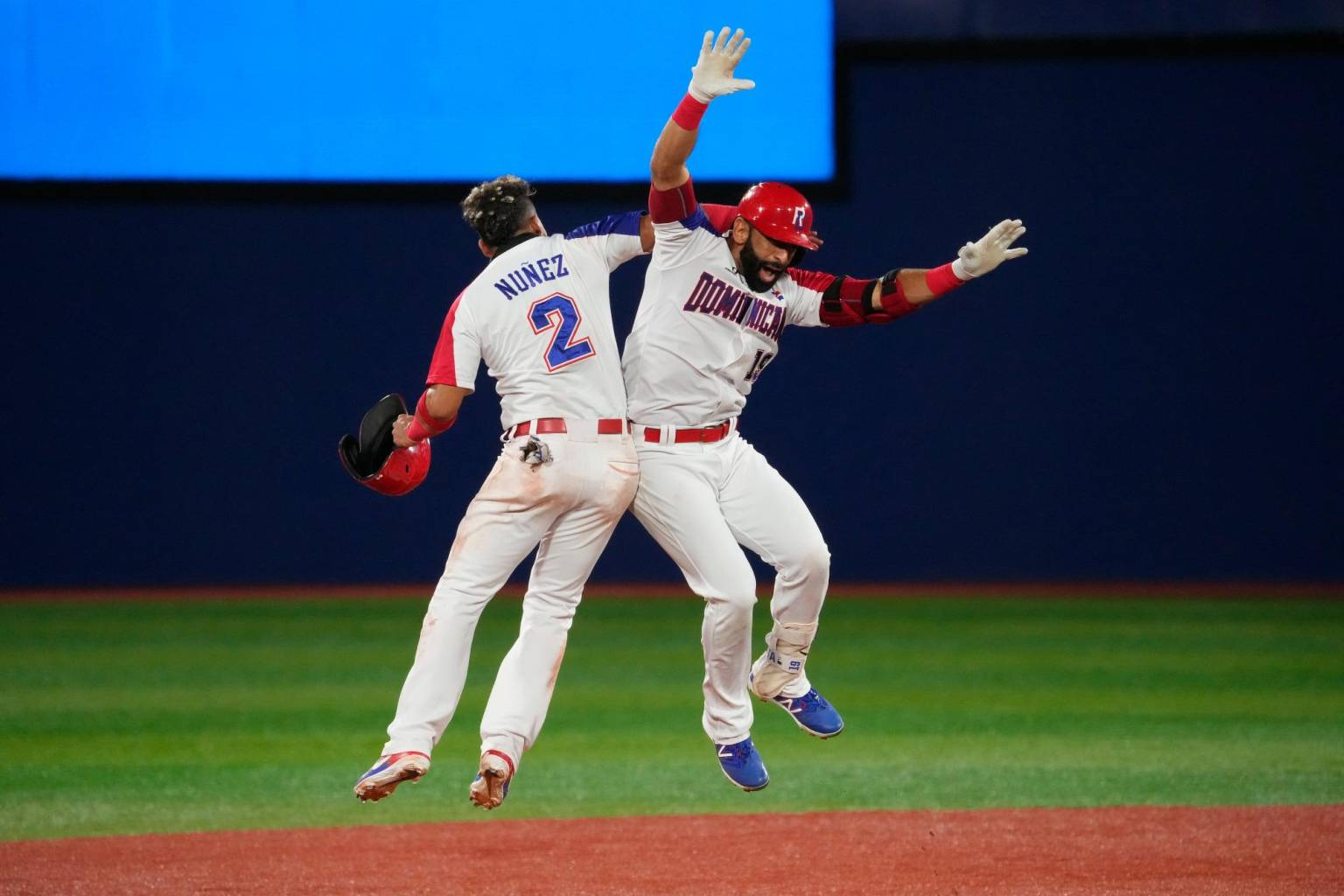 The Dominican Republic has twice challenged the United States in the Olympics