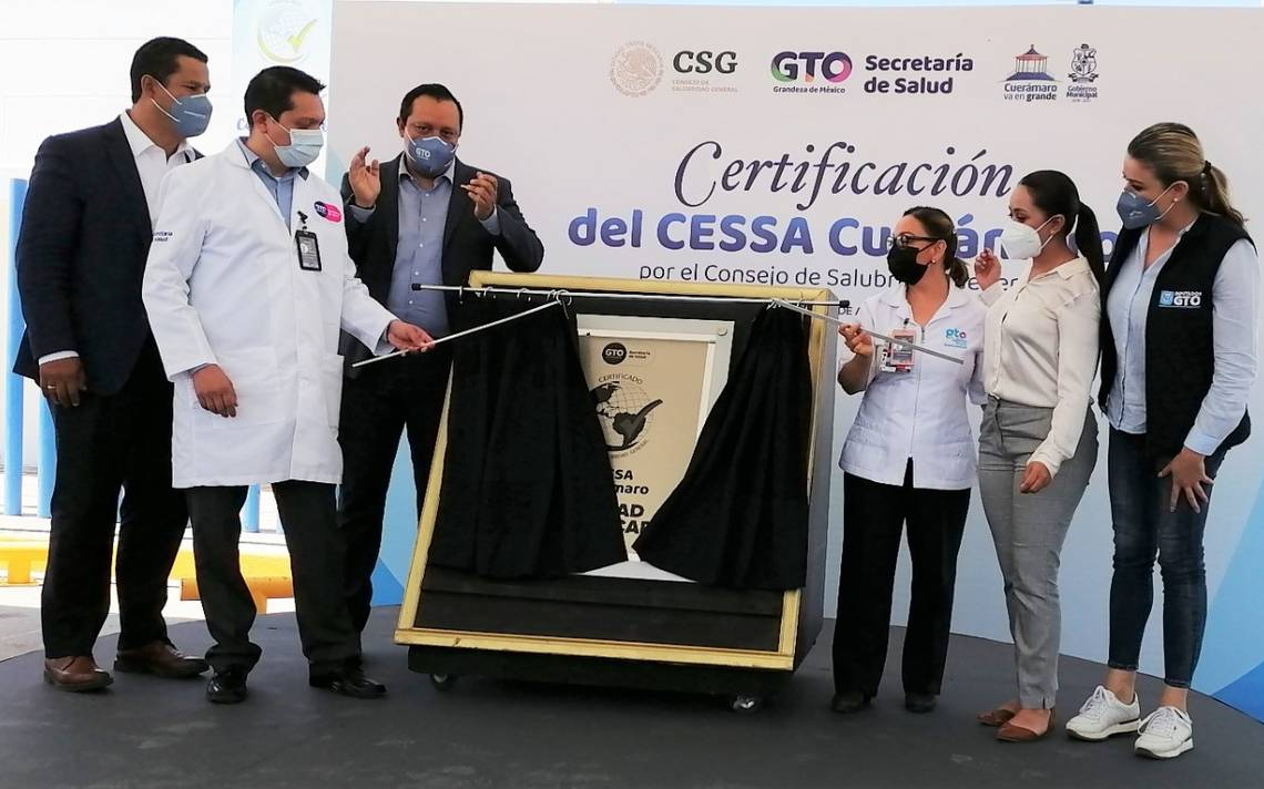 The Health Center with Extended Services (CESSA Cuerámaro) has been certified – El Sol de Irapuato
