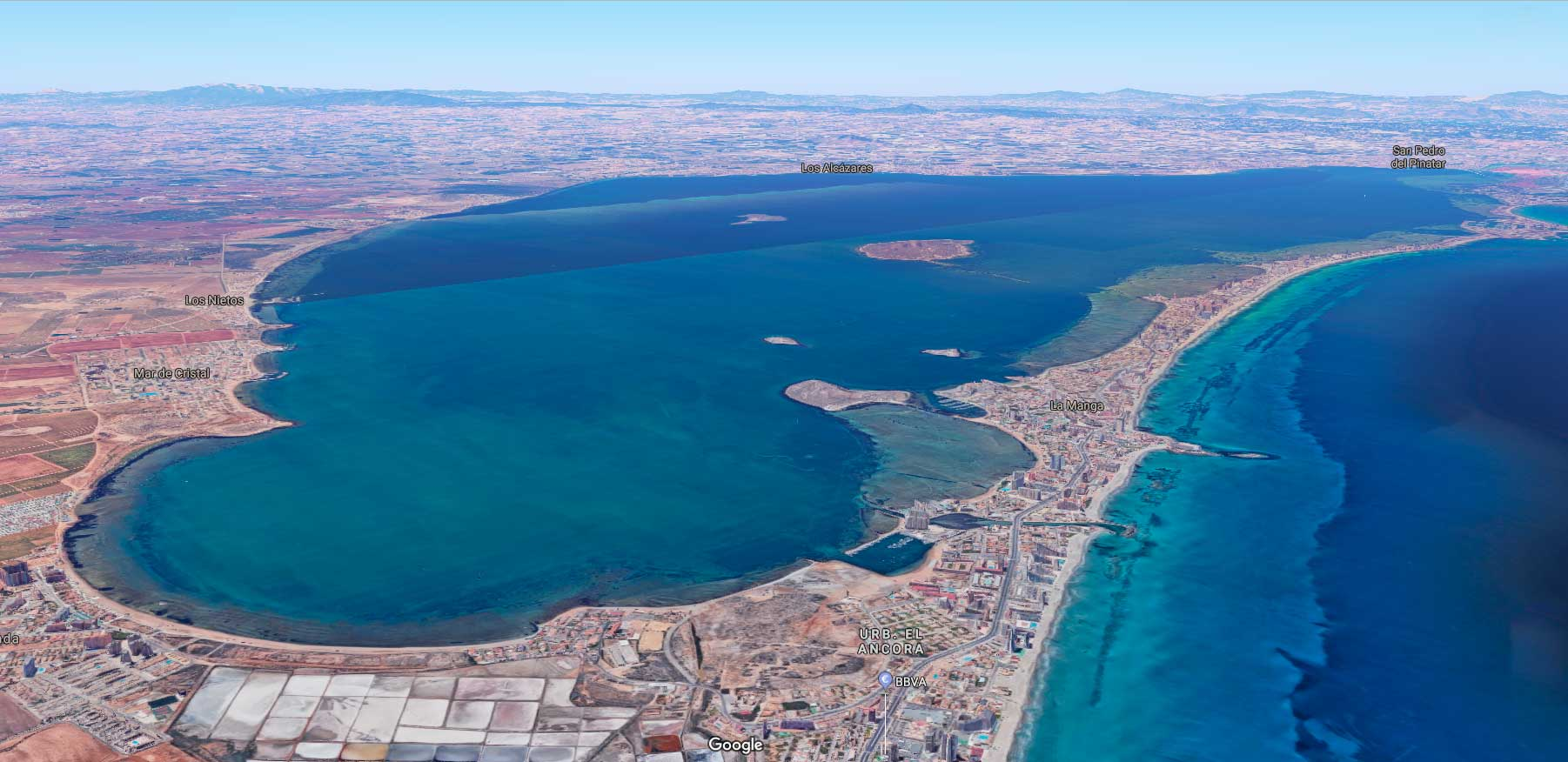 The problem with Mar Menor is the excess of nutrients