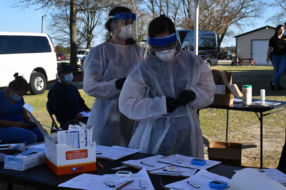 They will offer incentives in a health fair to vaccinate against Covid