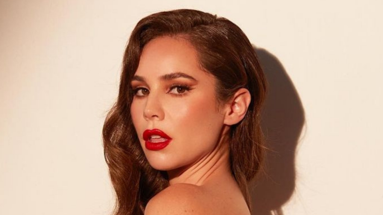 To the limit: Camila Soddy, niece of Thalia, shocked everyone with her beauty