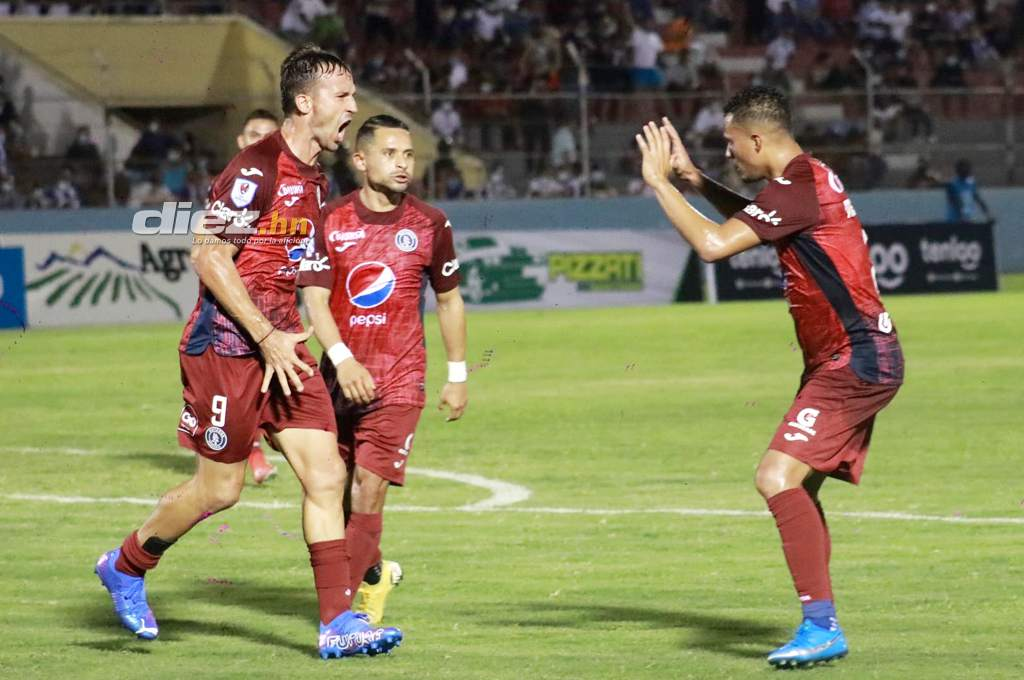 Victoria returns to the National League after her defeat by Motagua;  Gonzalo Closiner Select Match – Ten