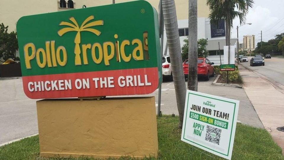Shared Tropical Chicken in Miami