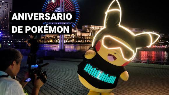 Pokemon celebrates its birthday: Age of the franchise 25