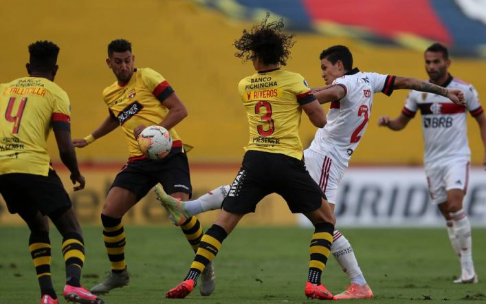 Against Flamenco.  Barcelona SC: Date, time and TV channels to watch the first leg of the Copa Libertadores semi-final |  Football |  Sports
