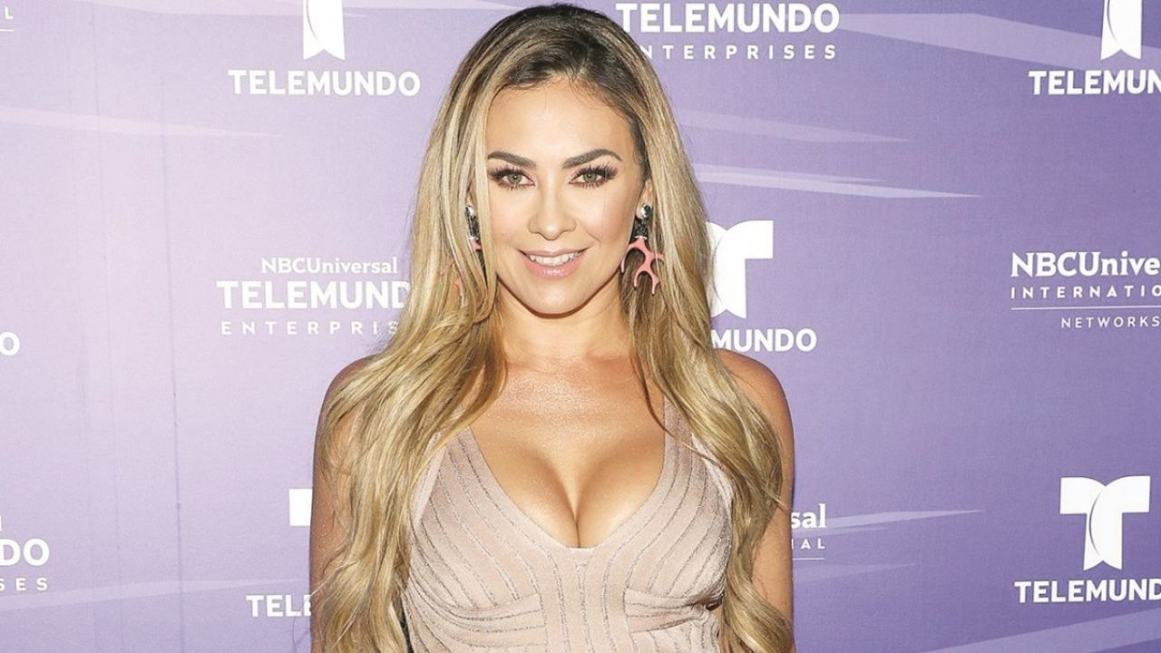 Aracely Arámbula, the ex-Luis Miguel, shows her personality and wows everyone