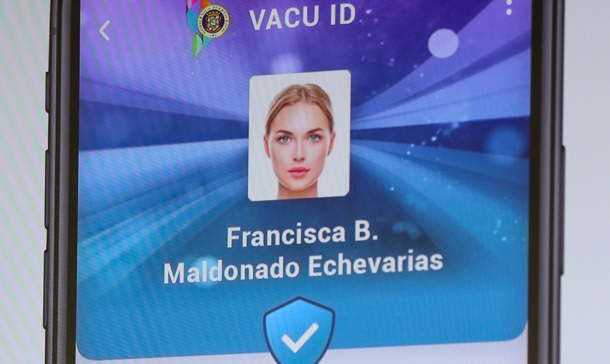 By next week, the VACU ID will be available to minors or people without a license