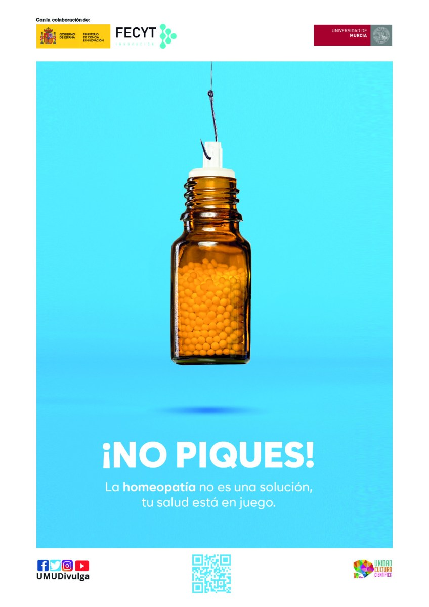 Ciencia en Corto concludes the project with a bold street campaign to raise awareness about the danger of pseudoscience and fight hoaxes.