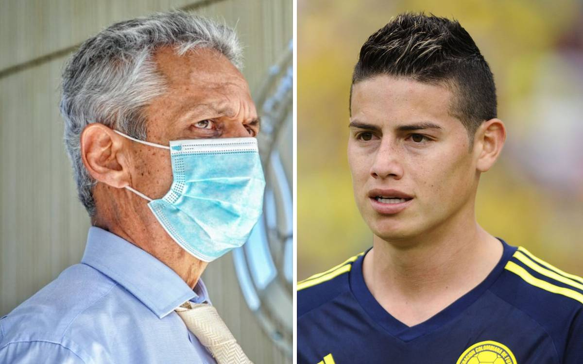 Colombia Reynolds Ruda explains the 500% he asks of James Rodriguez