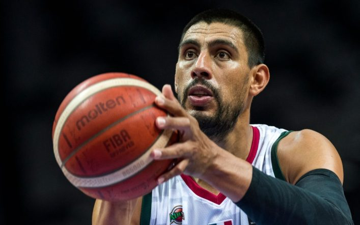 Gustavo Ion signs with the Capitanes of Arecibo in Puerto Rico