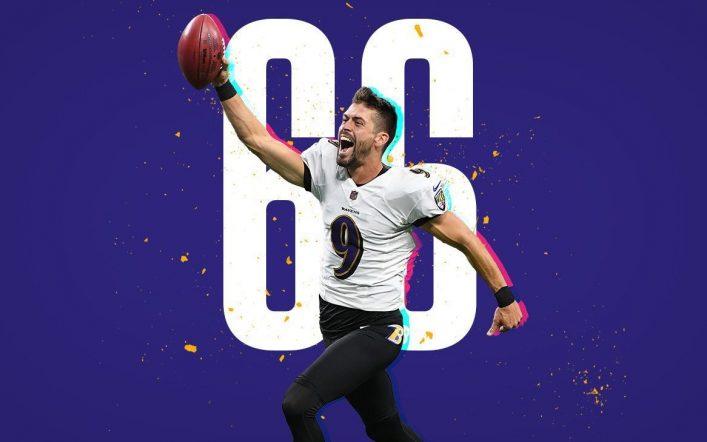 Justin Tucker scored the longest field goal in NFL history
