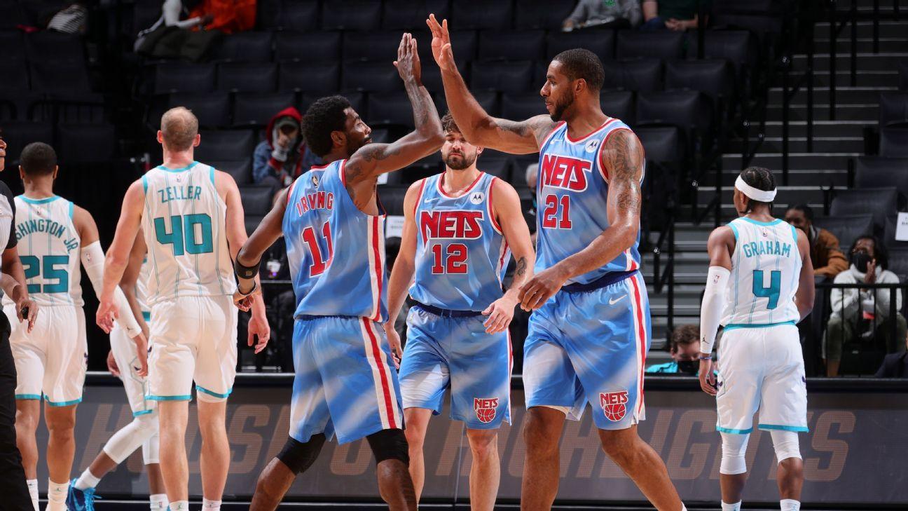 Lamarcus Aldridge Sale del Retro y Brooklyn Nets