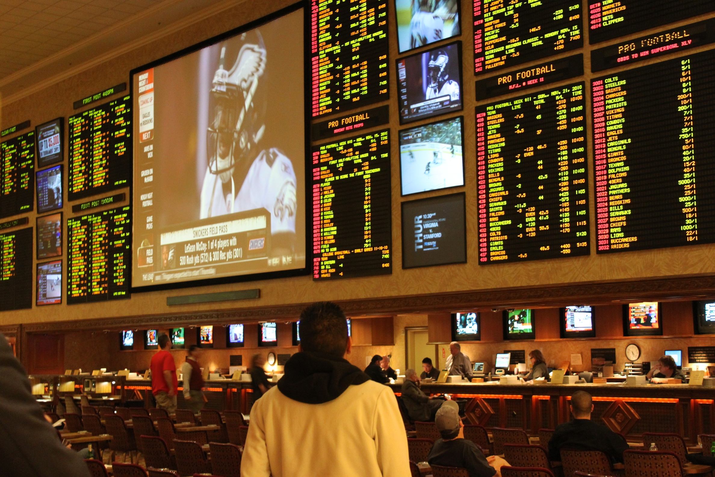 What sports usually have the best betting odds