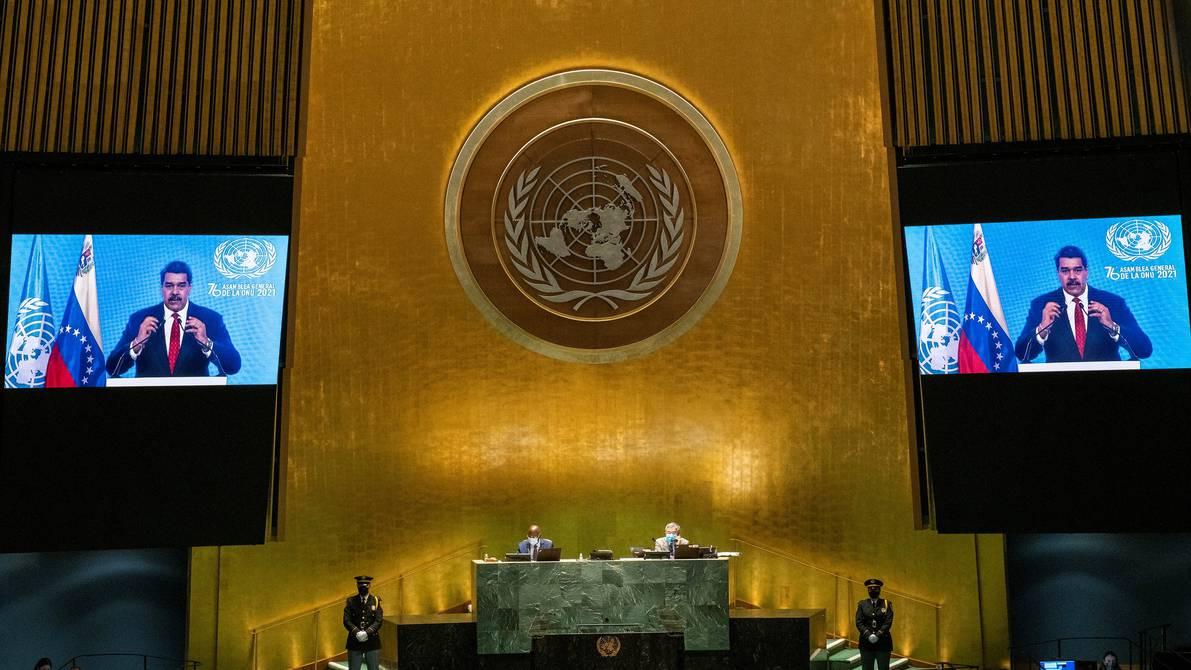 Nicolas Maduro asks the United Nations to lift all sanctions imposed on Venezuela |  international |  News