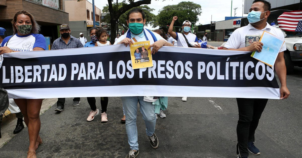 Persecution in Nicaragua: Three opposition leaders sent to trial by Ortega's regime