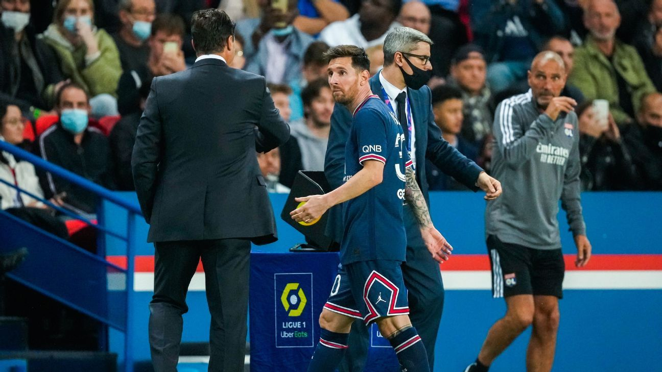 Pochettino, Messi is not affected