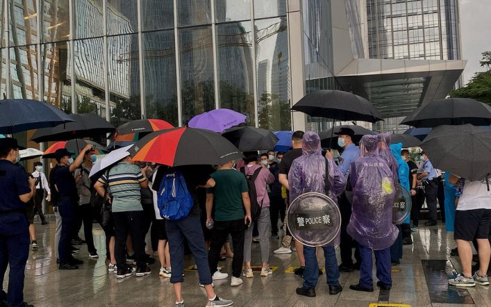 Protests escalate in China: Real estate firm Evergrande has sold more than a million homes, but can't build them