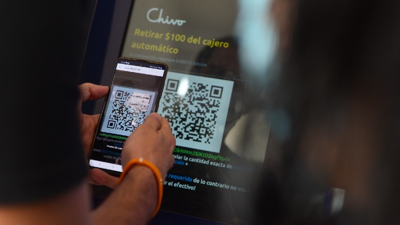 Some take the Chivo wallet, others test the volatility of Bitcoin