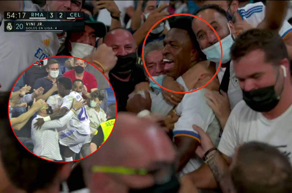 Vinicius Jr. Mad: He scored again with Real Madrid and celebrated it at the Santiago Bernabeu stand!  – Ten