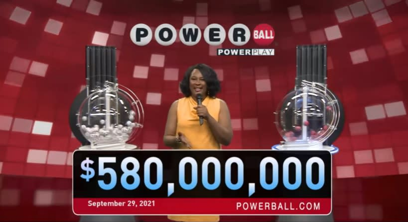 Arsenal!  They published the winning numbers for the September 29 drawing