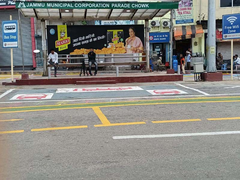 JSCL creates a vibrant space for pedestrians at the viewing crossing